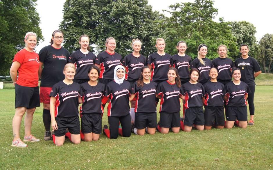 Softball Verbandsliga Team 2016