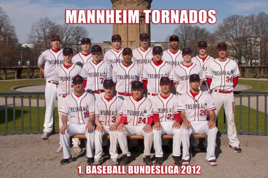 Baseball Bundesliga Team 2012
