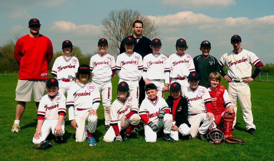 Baseball Schüler Team 2010