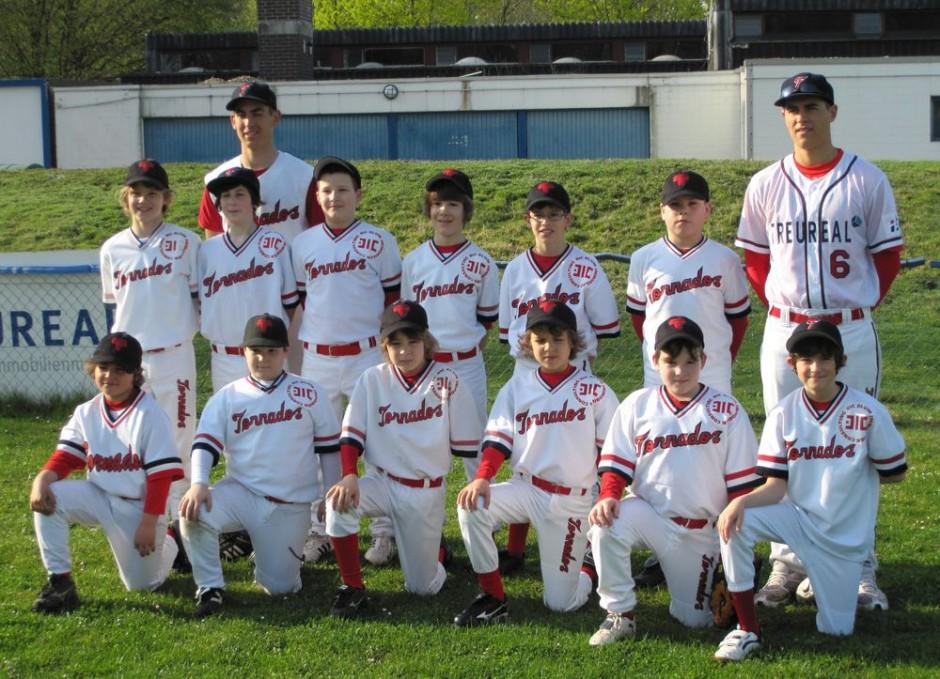 Baseball Schüler Team 2011
