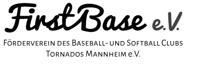 """Schriftzug """"First Base"""""""