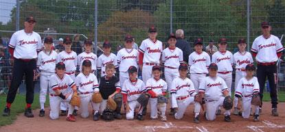 Baseball Schüler Team 2004