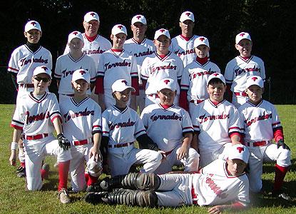 Baseball Schüler Team 2005