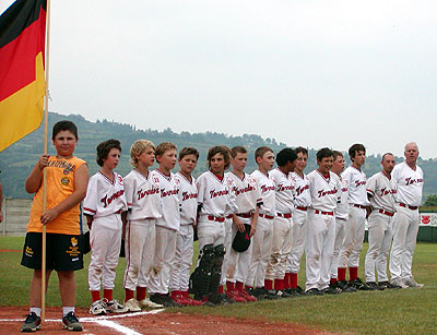 Baseball Schüler Team 2008