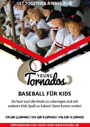Baseball Tornados Flyer-1